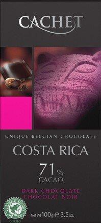 Cachet Dark Chocolate - Costa Rica 71%